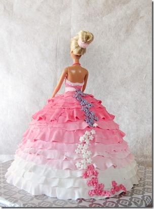 Torta barbie 2