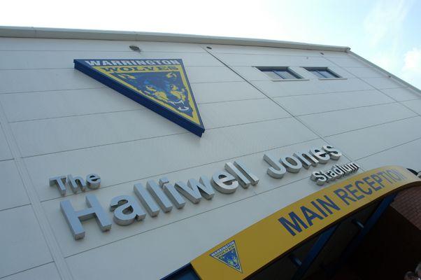Halliwell Jones Stadium Home Of The Warrington Wolves