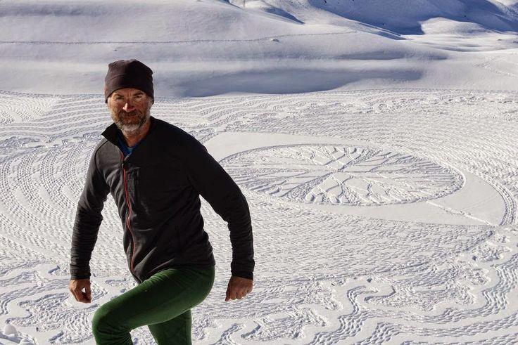 Nila Tamaraa: SIMON BECK'S SNOW ART