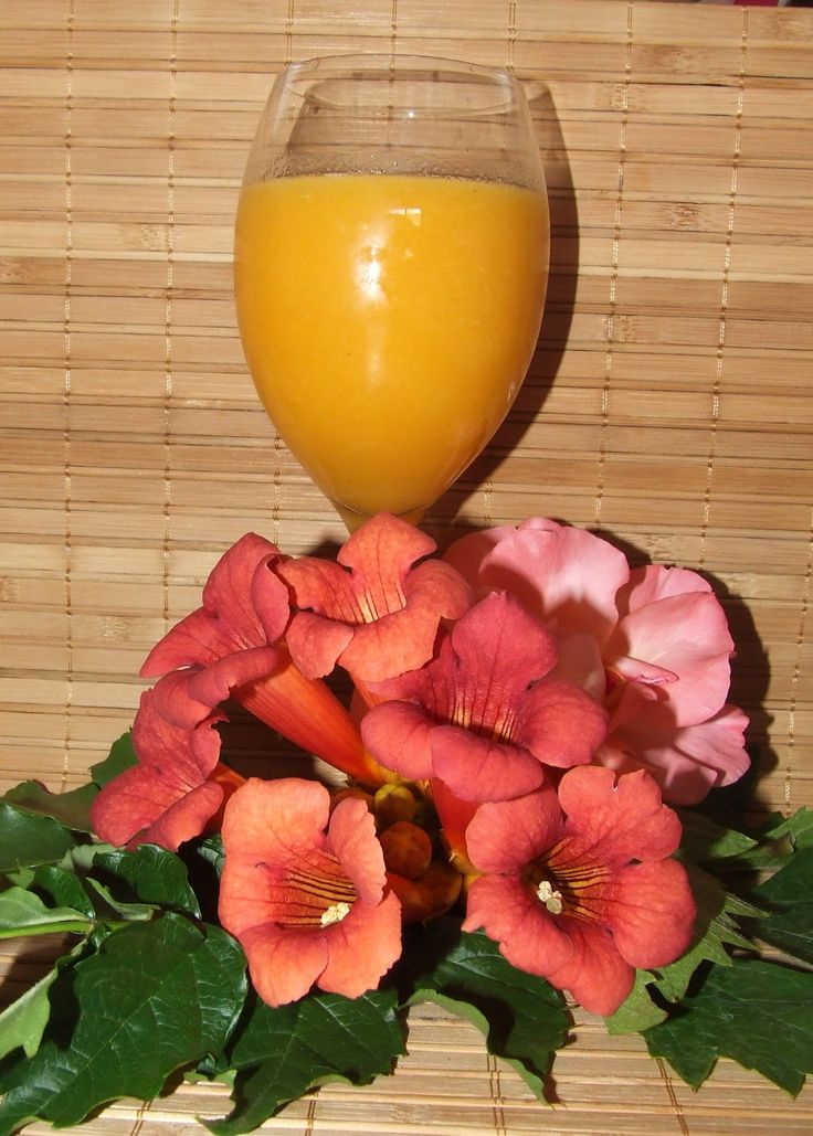 Édes Élet Egészségen: Répa-ananász-sárgadinnye Smoothie
