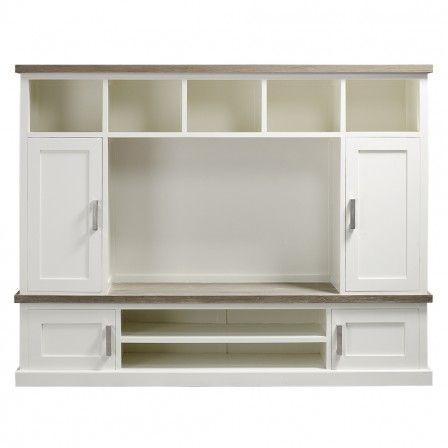 #prontowonen#droomwoonkamer Pronto Wonen TV-meubel (+opzet) Lizzano