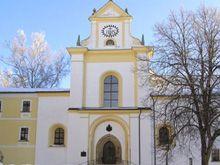 Žďár nad Sázavou / kostel nanebevzetí PM / Santini