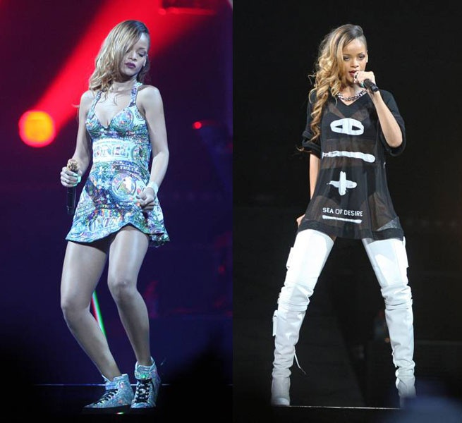 Rihanna Diamonds Tour Costumes Costume Stage Designer Riri Rihpost Diamondsworldtour