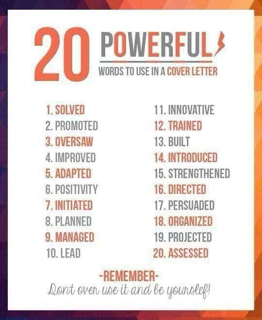 41 best Tips for Writing Letters images on Pinterest Writing - resume trigger words