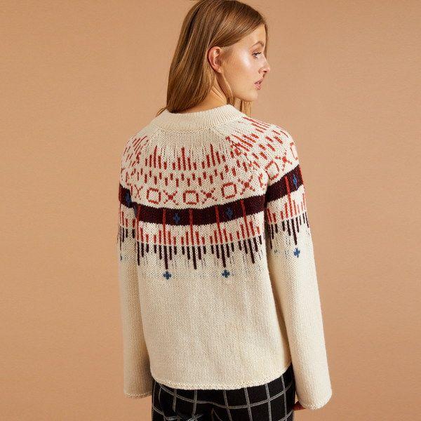 LANIUS Norweger pullover Aus Schurwolle Gots   Pullover