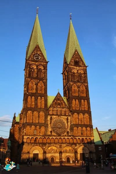 st peter 39 s cathedral in bremen germany our trips pinterest bremen cathedrals and germany. Black Bedroom Furniture Sets. Home Design Ideas