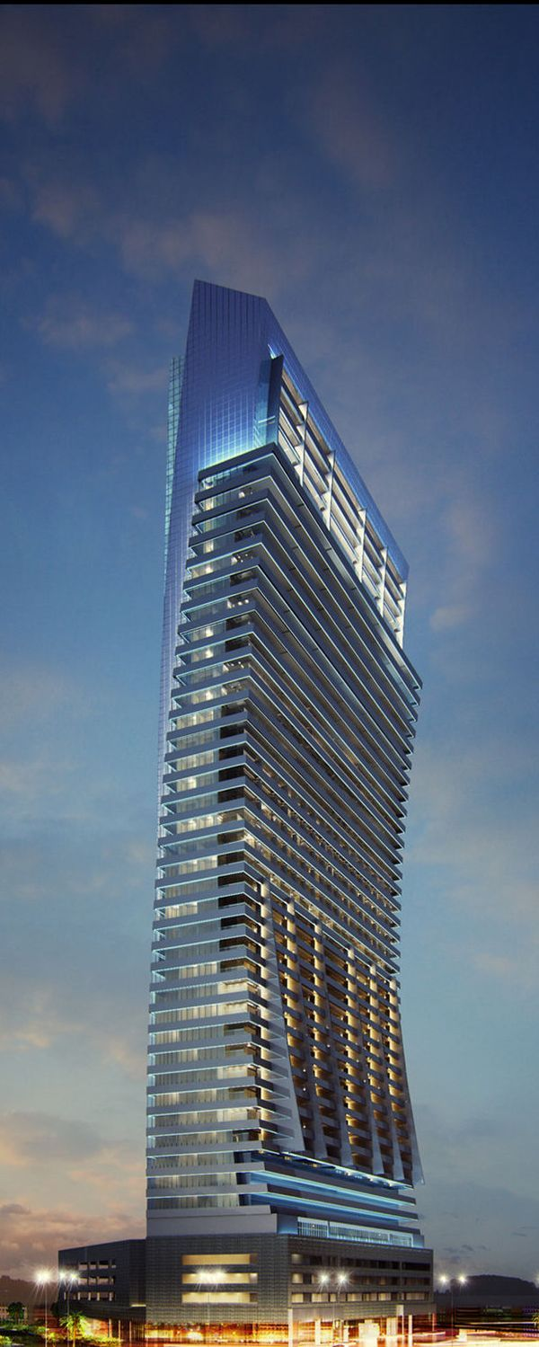 Al Jawharah Tower, Jeddah, Saudi Arabia by Salama Structural Engineers :: 48 floors, height 224m