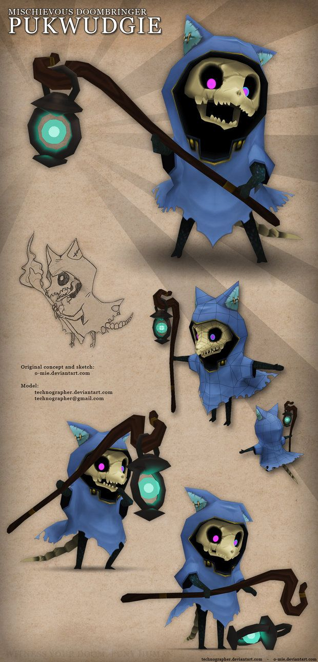Pukwudgie by `technographer on deviantART