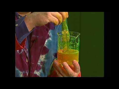 Science Experiment Atomic Slime - YouTube