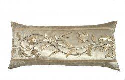 Antique European Raised Silver Metallic Embroidery.