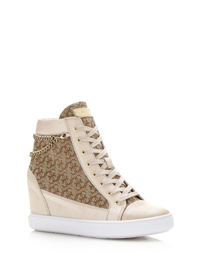 EUR155.00$  Watch now - http://vigsb.justgood.pw/vig/item.php?t=v05gqgi53623 - FURIA LOGO WEDGE SNEAKER