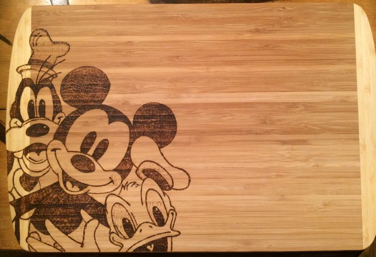 A personal favorite from my Etsy shop https://www.etsy.com/listing/273938242/large-cutting-board-wood-burned-with-a