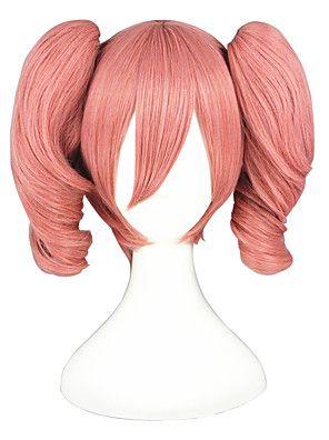 InuBoku+Secret+Service-Roromiya+Karuta+Pink+14inch+Cosplay+Wig2Ponytails+CS-078B+–+USD+$+27.99