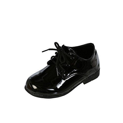 wow DressForLess Classic Oxford Boys Dress Shoes