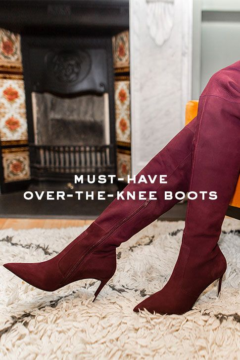 Thigh-high boots, over-the-knee boots…whatever you call them, they're officially now as essential to any well-rounded shoe collection as the classic black ankle boot. Fashion heavy-hitters Fendi and Moschino (to name but two) sent models strutting down the AW17 catwalks in thigh-high boots, and A-list over-the-knee boot devotees include everyone from Heidi Klum to Cara Delevigne.