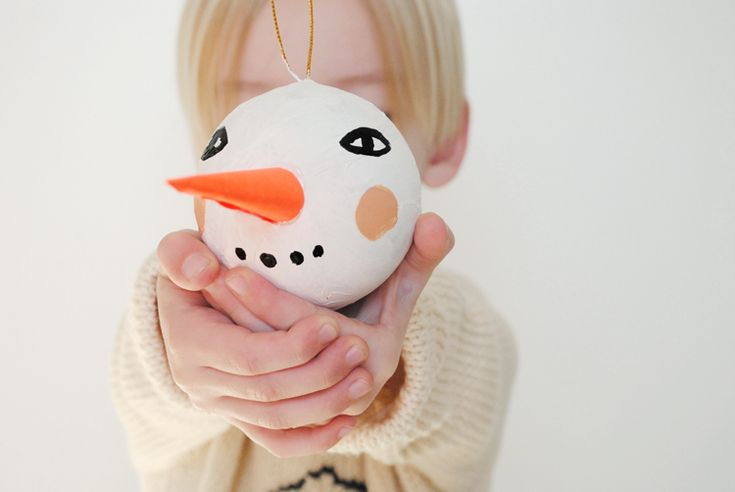 I love the every classic snowman. The tradition of creating a simple and wonderful character out of nature's snowstorms makes for lots of magic and wonder. I wanted to capture just a bit of that wo...