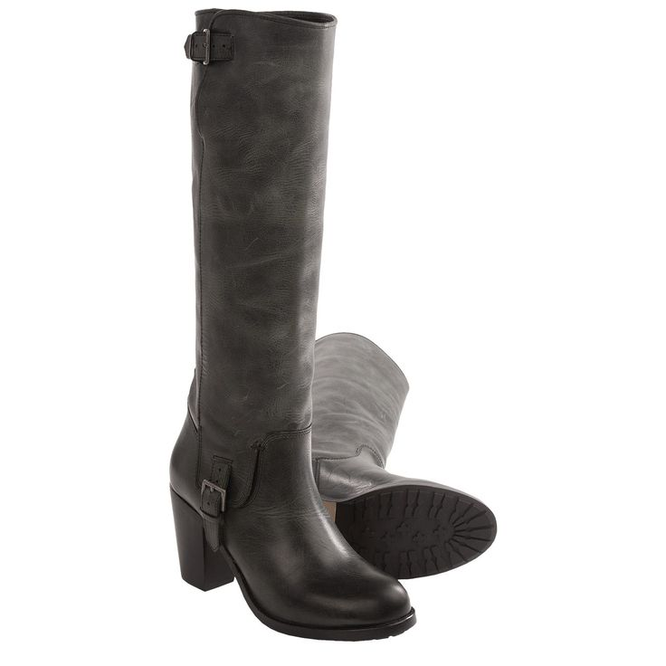 Ariat Gold Coast Boots - Leather (For Women) in Smoky Black