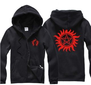Supernatural cheap hoodies for men sweatshirts fleece lined