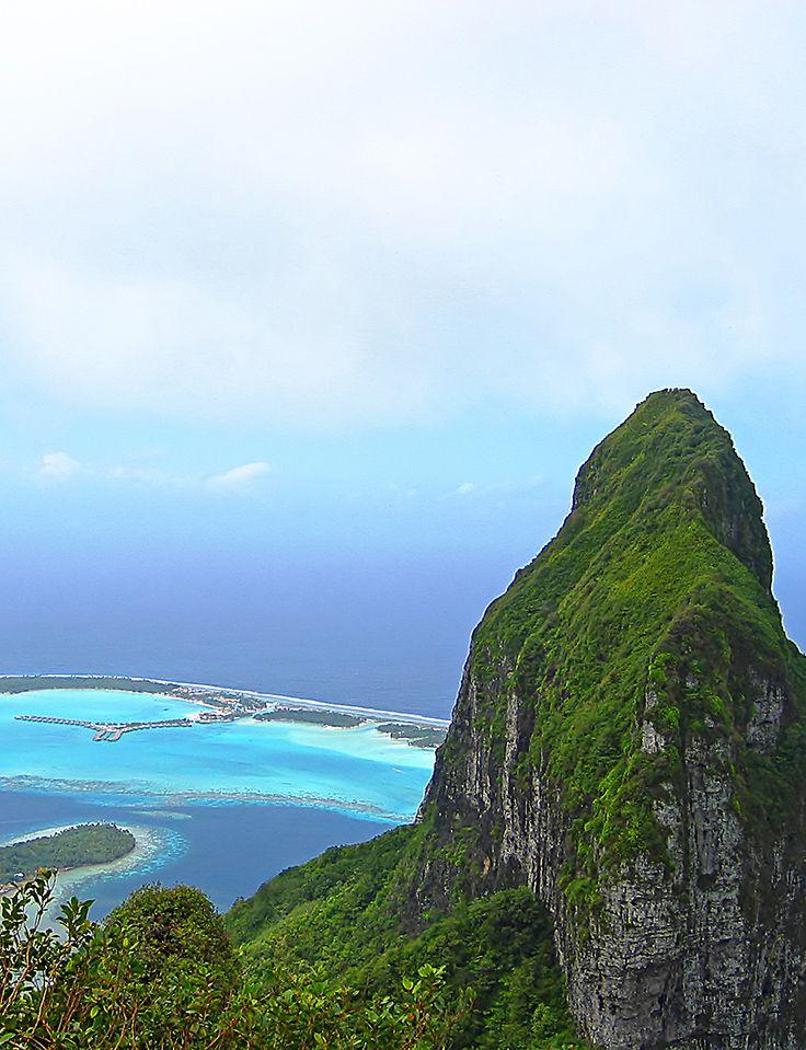 Explorando el Monte Otemanu en Bora Bora. #island #vacance