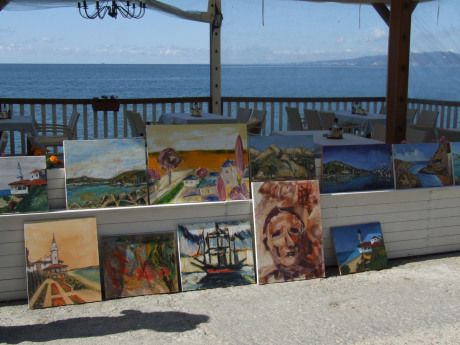 Instantanee din tabara de pictura Hobby Art – Balcic 2014 | Tabara de pictura Hobby Art