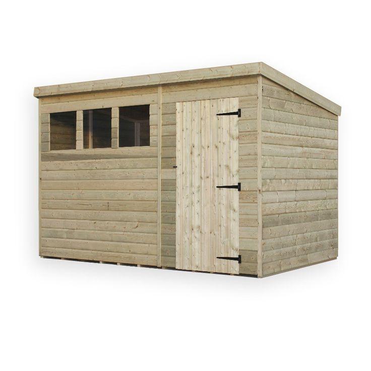 empire sheds ltd 10 x 5 wooden garden shed wayfaircouk