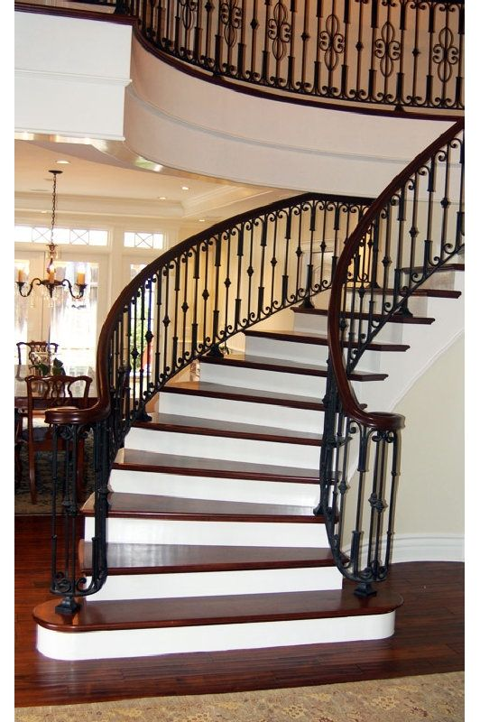 17 best images about stairs ironwork on pinterest entrance design and staircases. Black Bedroom Furniture Sets. Home Design Ideas