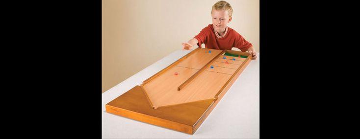 Classic Rebound Shuffleboard Game
