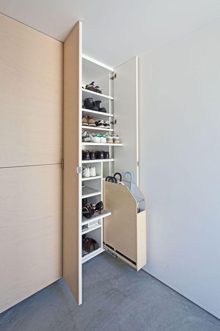 Possible idea for shoe cabinet interior