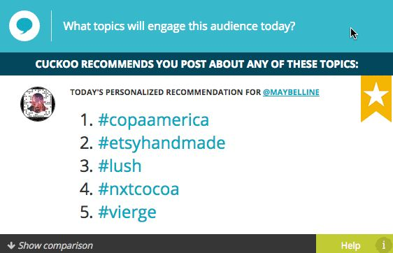 #lush is trending in Maybelline's audience. Do you have any natural alternatives in store?