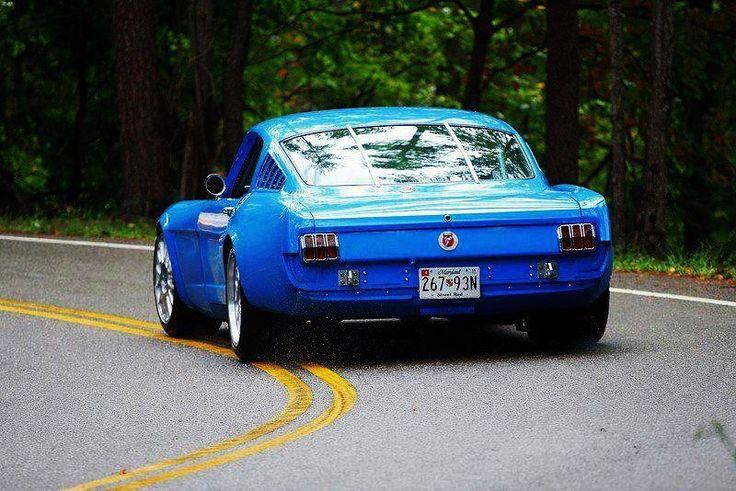 65 Wide Body Mustang