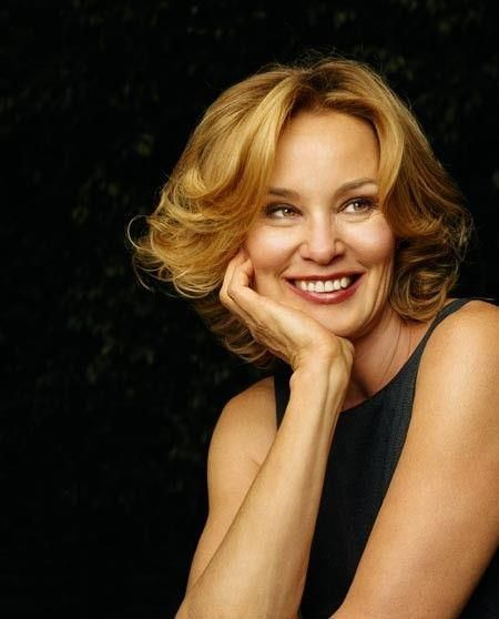 Jessica Lange, winner of the Best Actress Oscar (Blue Sky, 1994). Lange has won several acting awards, including 2 Oscars, 2 Emmys, 5 Golden Globes and 1 SAG Award, making her one of the most celebrated actors of the modern era. In 1982, she won the Oscar for Best Supporting Actress (Tootsie) and was nominated for Best Actress (Frances). Lange received 3 more nominations (Country, Sweet Dreams and Music Box). She has also won 2 Emmys (for Gray Gardens and American Horror Story).