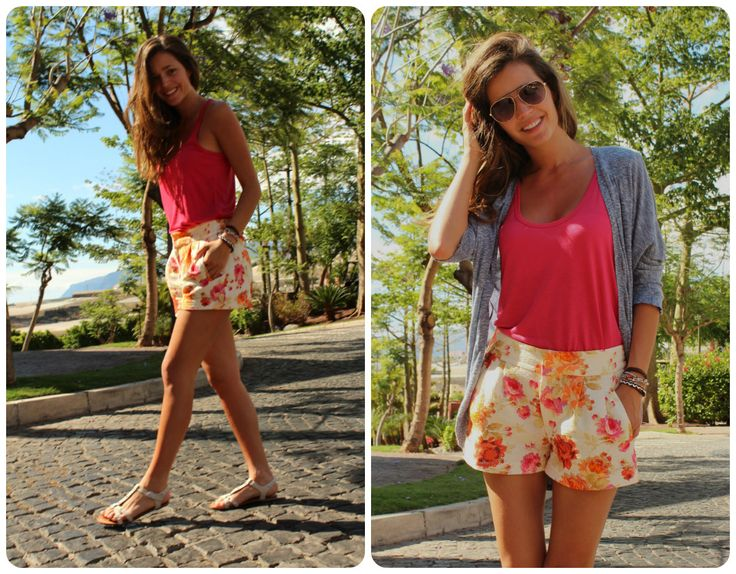 summer | short i camiseta Zara nueva temporada