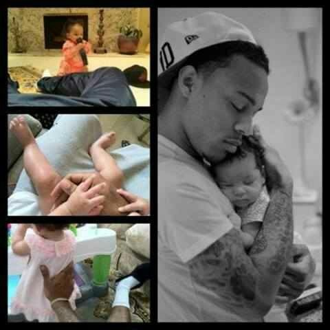 Bow Wow and his daughter❤❤