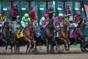 The field breaks in the Woodward Stakes Sept. 1. NYRA will host 229 days of live racing in 2018