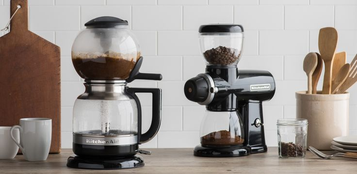 KitchenAid Siphon Brewer and Burr Grinder