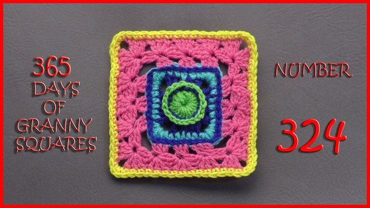 365 Days of Granny Squares Number 324
