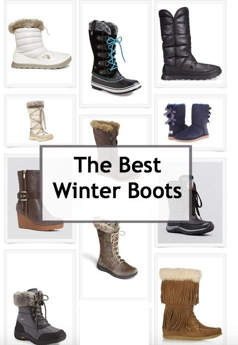 Winter is here and I am getting ready! Check out my selection of the best winter boots!!!