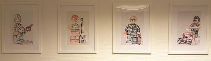 Legomænd-portrætter