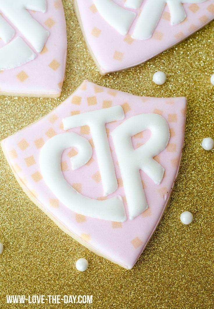 LDS Baptism:: CTR Cookies. Darling!