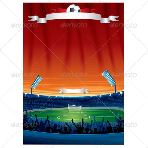 Vector Soccer Background Template #GraphicRiver Vector Soccer Background with Copy Space. Template For Your Text and Design. - vector illustration, only simply linear gradients used - no blends, gradient mesh used - vector available CMYK colors for print - pack include version AI, CDR , EPS, JPG Keywords: 2013, group, loud, field, red, empty, ribbon, vectors, crowd, action, art, goal, grandstand, image, penalty, trophy, win SPORT & LEISURE VECTOR CLIP ART ...