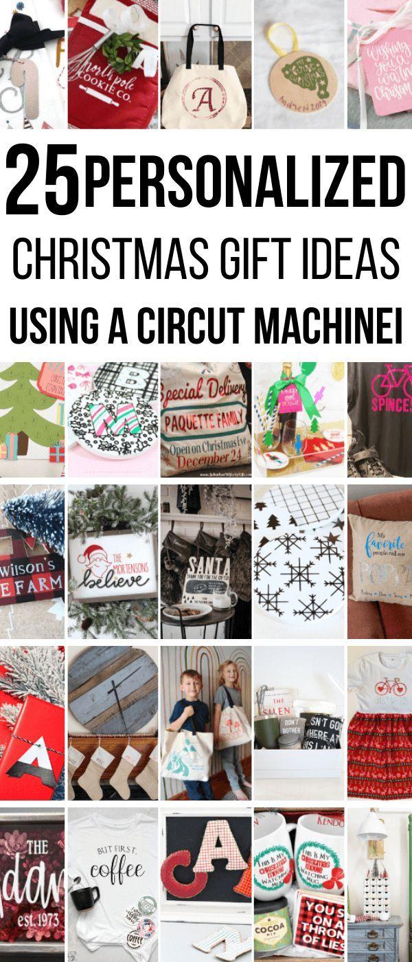 25 Wonderful Personalized Christmas Gift Ideas Using Your Cricut Machine In 2020 Personalized Christmas Gifts Personalized Christmas Christmas Gifts