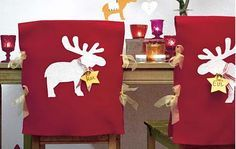 Christmas Chair Decoration Tutorial