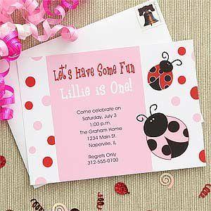 Ladybug Birthday Party Supplies & Decoration Ideas