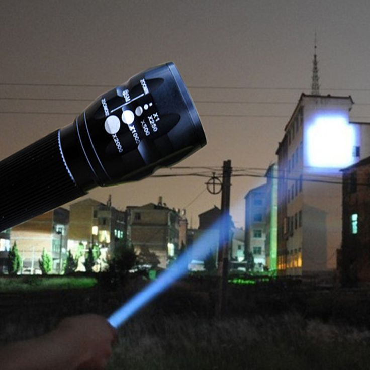 LED Flashlight Lanterna de led linternas Torch 2000LM lanterna tatica Torch Zoomable flashlight Torch light bike Light camping  Price: 3.52 USD