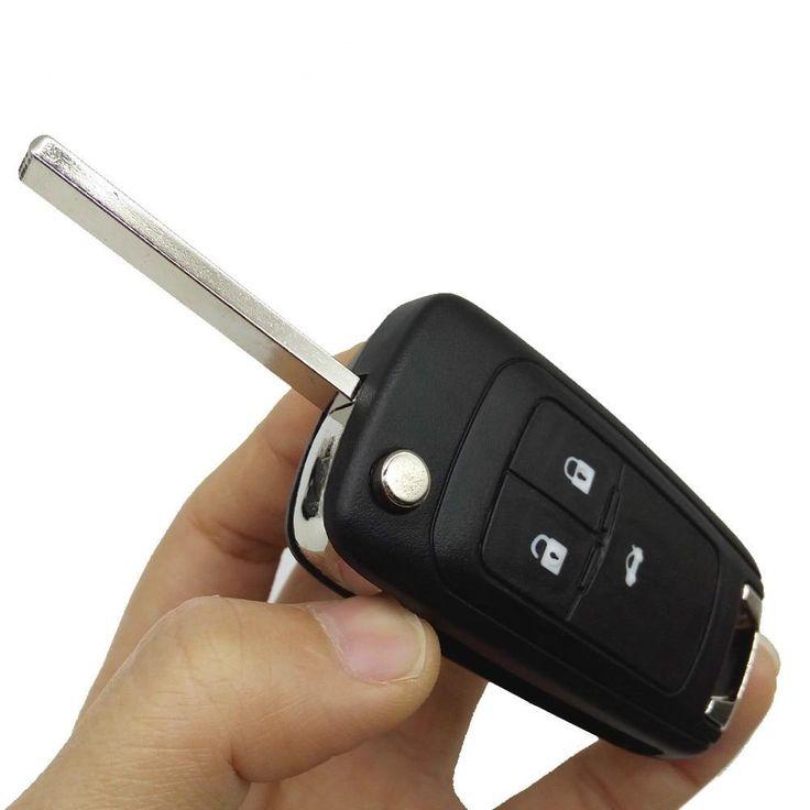 Replacement Key Case Flip Folding Remote Control Key Case