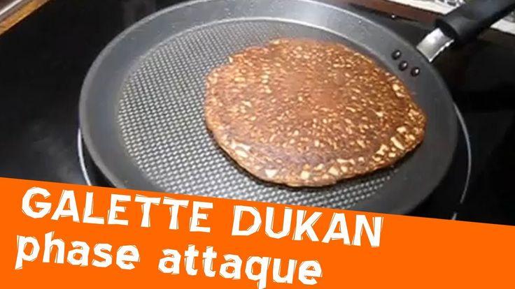 Galette Dukan de la phase d'attaque