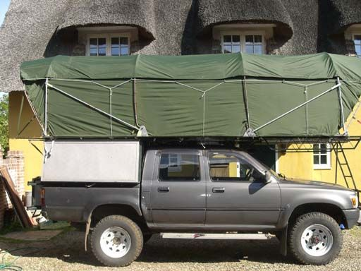 Homemade Camping Equipment | This is awesome! Homemade Rooftop sleeps 4 - Expedition Portal