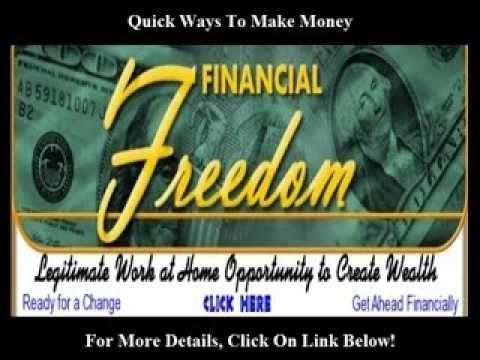 Quick Ways To Make Money http://youtu.be/6iuZ2m_7fe4