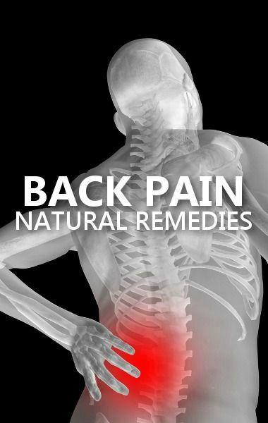 how to fix lower back pain naturally