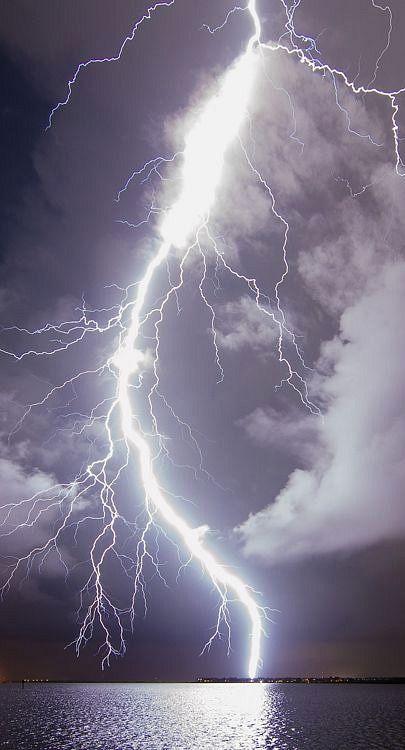 lightning bolt....